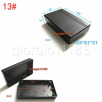 2 pcs New Plastic Project Box Electronic Enclosure Case DIY 103 x 61 x 31mm #13