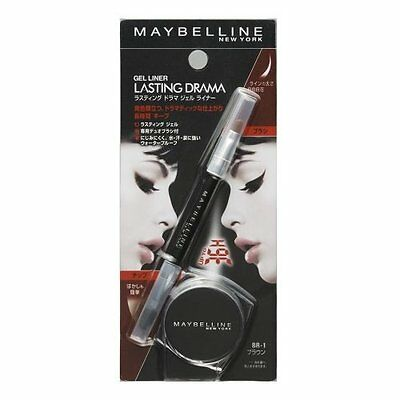 Maybelline Eye Liner Gel Lasting Drama Brown (Japanese Packaging)