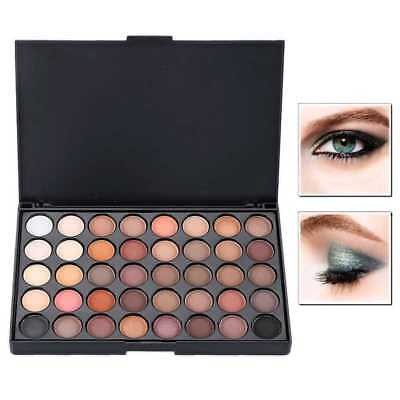 Sombra de Ojos Kit Completo de Maquillaje Paleta Set 40 Colores Make Up Brillo