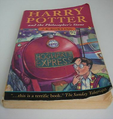 Harry Potter and the Philosopher's Stone by J. K. Rowling PB 1997 JOANNE