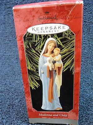 Hallmark 1998 Madonna and Child Christmas Ornament 06516 New (8814)