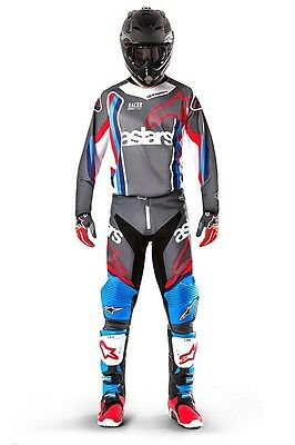 New 2017 32 M Alpinestars Racer BOMBER ANTHRACITE LTD ED Jersey Pant Kit