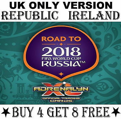 REPUBLIC OF IRELAND Road To World Cup 2018 card/s Panini Adrenalyn