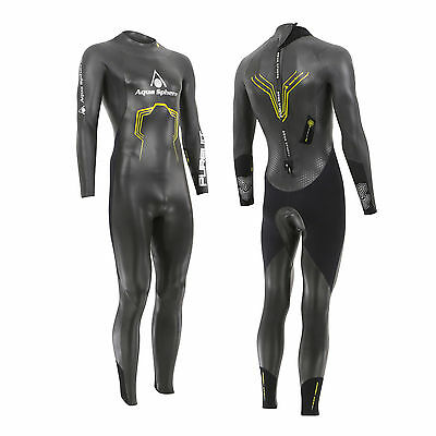 New! Aqua Sphere 2017 Pursuit Mens Triathlon Long Sleeve Wetsuit Open Water Swim