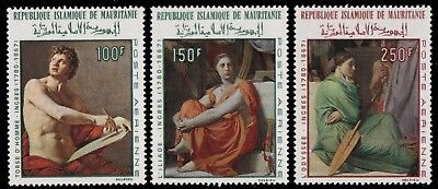 Mauretanien 1968 - Mi-Nr. 344-346 ** - MNH - Gemälde / Paintings