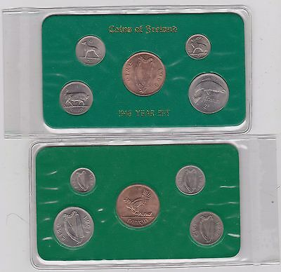 Ireland 1968 Year Set Pack Of 5 Coins In Near Mint Condition