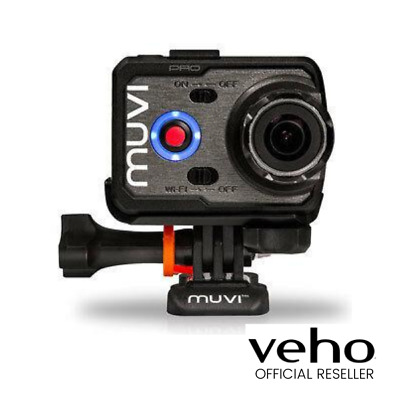 Veho Muvi K-Series K-2 Pro 4K Wi-Fi Handsfree Camera Actioncam With Lcd