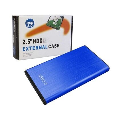 "2.5"" SATA USB 3.0 SSD Hard Disk Drive External Enclosure Case Caddy Windows MAC"