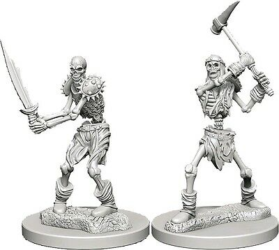 Skeletons - Dungeons & Dragons Pathfinder Primed Unpainted 25Mm Miniatures