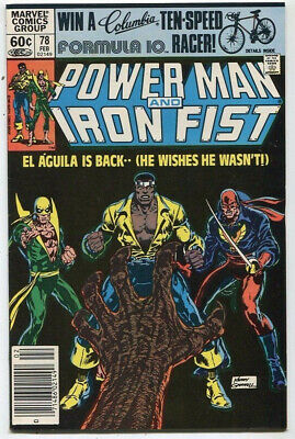Power Man And Iron Fist #78 VF El Aguila Is Back   Marvel SA
