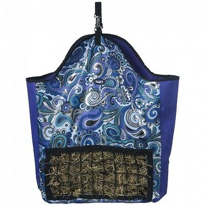 Tough-1 Slow Feed Hay Pouch - PAISLEY SHIMMER PRINT - NWT
