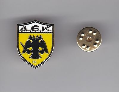 AEK Athens (Greece) - lapel badge No.2  butterfly fitting