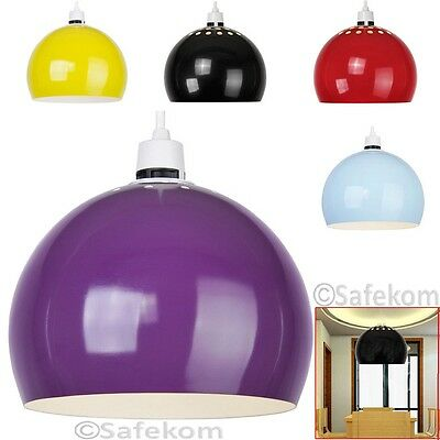 Metal Dome Retro Style Round Ceiling Pendant Light Shade Lampshades Lamp Shades