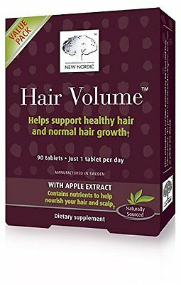New Nordic Hair Volume Tablets - 90 Count [Healthcare, B2 Hair Growth] NEW