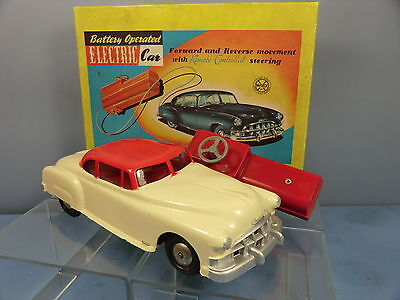 Vintage Marx Battery Operated Model Of A Electric Car  Mib