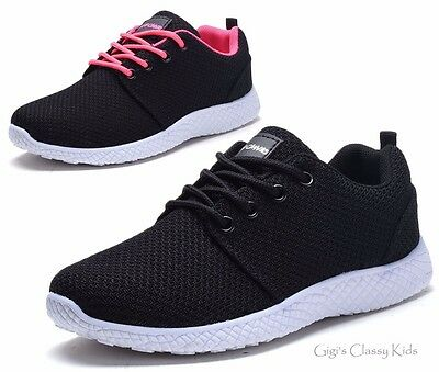 New Girls Boys Tennis Shoes Athletic Sneakers Running Toddlers Kids Youth Casual