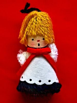 Hallmark Ornament 1973 Yarn Choir Boy Ornament