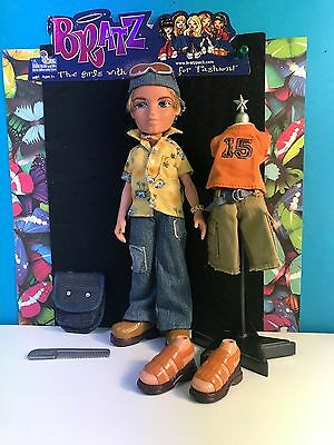 Bratz Boyz Strut It Cameron With Accessories Rare Collectible Doll MGA