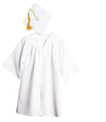 Jostens Graduation Cap And Gown Package Medium White