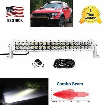 22nch Length 120W Led Work Light Bar Flood Spot ATV Boat Driving Lamp Offroad