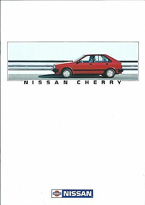 Auto Brochure - Nissan - Cherry - c1985 - GERMAN language Prospekt (A1183)