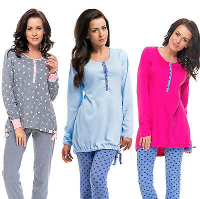 Nursing 100% cotton 2-peace Pyjama Set size 8 10 12 14 breastfeeding 5073