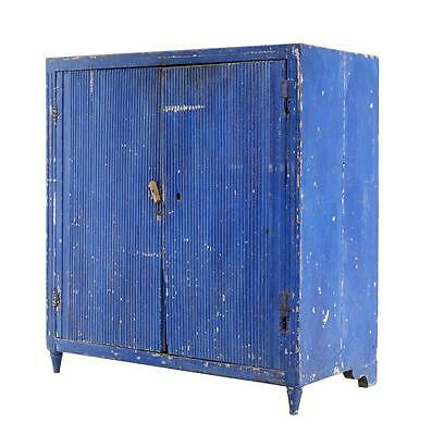 Rustic 19Th Century Swedish Painted Cabinet
