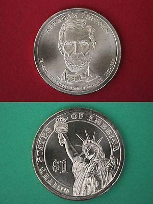 2010 P BU Abraham Lincoln Presidential Dollar From Mint Set Combined Shipping