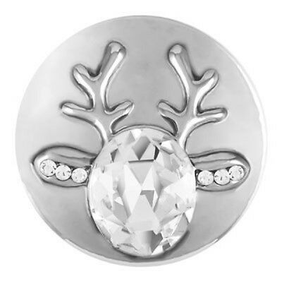 Buy 4, Get 5Th $6.95 Snap Free Ginger Snaps Jewelry Stone Reindeer Sn19-14