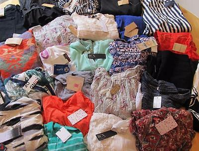 25pc Women's Designer Mixed Lot Clothes New with Tags~ Lucky Rachel Roy BCX +++