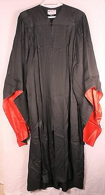 High School Choir Robes by Peterson - Black with Red Satin Lining - Lot of 74