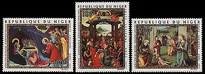 Niger 1971 - Mi-Nr. 312-314 ** - MNH - Gemälde / Paintings