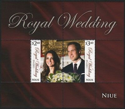Niue 2011 - Mi-Nr. Block 163 ** - MNH - Hochzeit Prinz William