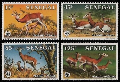 Senegal 1986 - Mi-Nr. 875-878 ** - MNH - Wildtiere / Wild animals