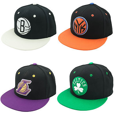 adidas NBA Basketball Fitted Team Cap Kappe Lakers/New York/Brooklyn/Celtics