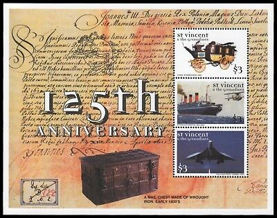St. Vincent 1999 - Mi-Nr. 4769-4771 ** - MNH - Transport