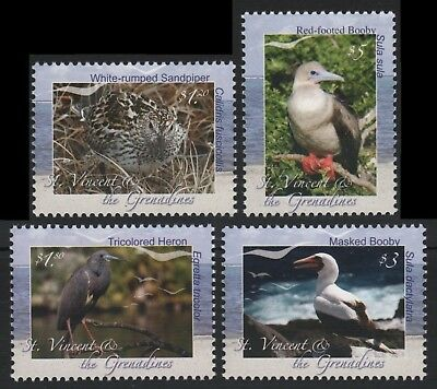 St. Vincent 2009 - Mi-Nr. 6680-6683 ** - MNH - Vögel / Birds