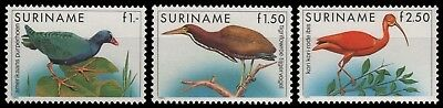 Surinam 1985 - Mi-Nr. 1146-1148 ** - MNH - Vögel / Birds