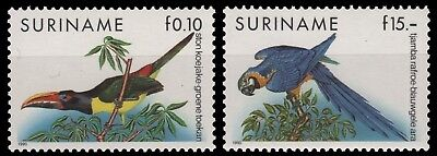 Surinam 1991 - Mi-Nr. 1356-1357 ** - MNH - Vögel / Birds
