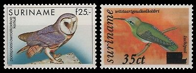 Surinam 1993 - Mi-Nr. 1429 & 1430 ** - MNH - Vögel / Birds