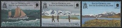 Süd-Georgien 2000 - Mi-Nr. 307-309 ** - MNH - E. Shackleton