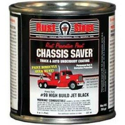 Chassis Saver Paint, Stops and Prevents Rust, Gloss Black, 8 oz Can MPCUCP99-16