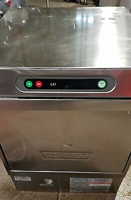 used Hobart LXiH Undercounter Dishwasher DishMachine SN#23-1119-606