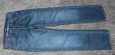 OLD NAVY Blue Jeans Straight Leg 32 x 32 BOYS SIZE 18 REGULAR