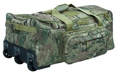 US Trolley Kampftrage Seesack Reisetasche Multicamo Army Travel bag Tasche