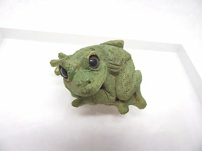 Stone Critters Frog Treefrog SCL-050 Vintage 1988 Figurine Free Shipping