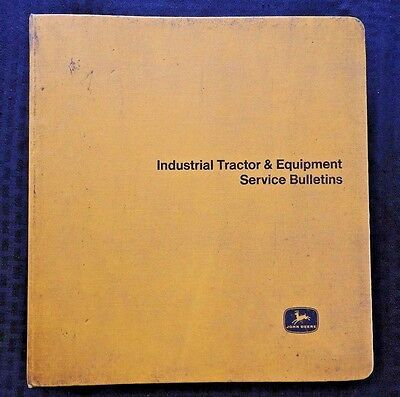 1966-71 John Deere Jd 400 500 600 700 350 450 Tractor Service Bulletin Manual