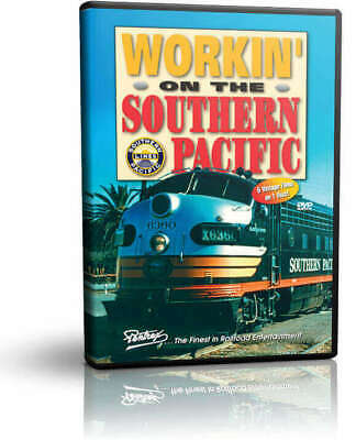 Working Workin' on the Southern Pacific - Maintenance of Way Pentrex Documentary