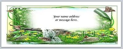 30 Personalized Return Address Labels Scenic Buy 3 get 1 free (bo 643)