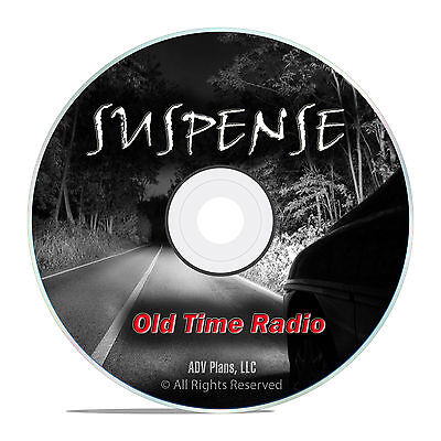 Suspense!, The Complete Set of 959 Old Time Radio Mystery Thriller Shows DVD F88